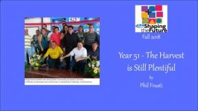 Year 51 - The Harvest is Still Plentiful