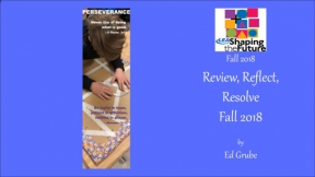 Review, Reflect, Resolve Fall 2018