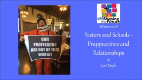 Pastors and Schools - Frappuccinos and Relationships