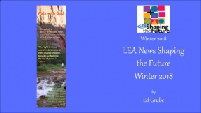 LEA News Shaping the Future Winter 2018