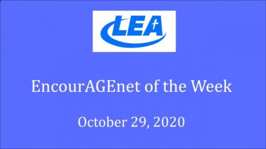 EncourAGEnet Tips of the Week - October 29, 2020
