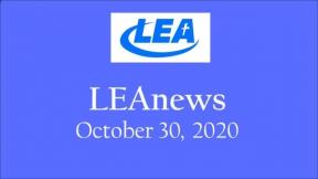 LEA News - October 30, 2020