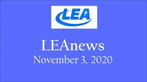 LEA News - November 3, 2020
