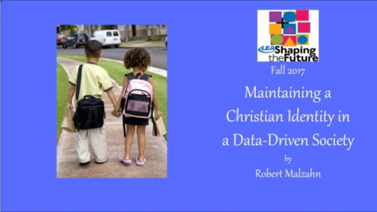 Maintaining a Christian Identity in a Data-Driven Society