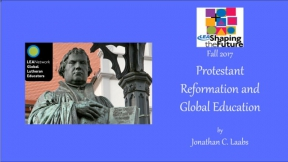 Protestant Reformation and Global Education