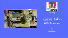 Engaging Students With Learning