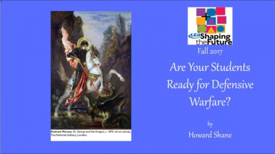 Are Your Students Ready for Defensive Warfare