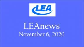 LEA News - November 6, 2020