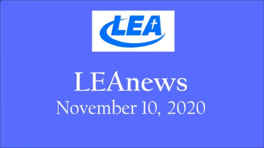 LEA News- November 10, 2020