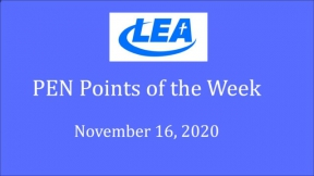 PEN Points of the Week - November 16, 2020