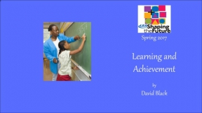 Learning and Achievement