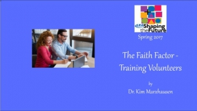 The Faith Factor - Training Volunteers