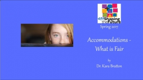 Accommodations - What is Fair?