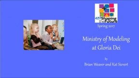 Ministry of Modeling at Gloria Dei