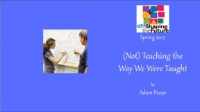 (Not) Teaching the Way We Were Taught