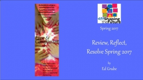 Review, Reflect, Resolve Spring 2017