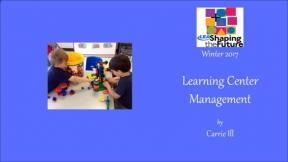 Learning Center Management