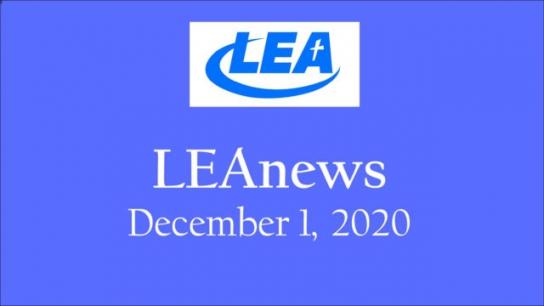 LEA News- December 1, 2020