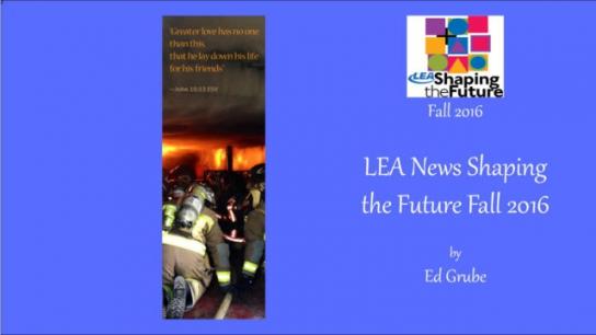 LEA News Shaping the Future Fall 2016