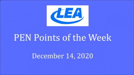 PEN Points of the Week - December 14, 2020