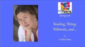 Reading, 'Riting, 'Rithmetic, and ...
