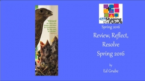 Review, Reflect, Resolve Spring 2016