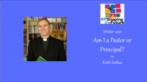 Am I a Pastor or Principal?