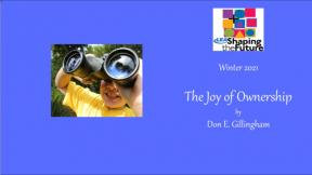 The Joy of Ownership