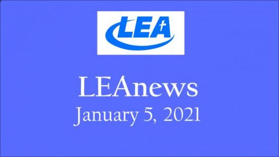 LEA News - January 5, 2021
