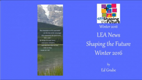 LEA News Shaping the Future Winter 2016