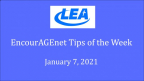 EncourAGEnet Tips of the Week - January 7, 2021