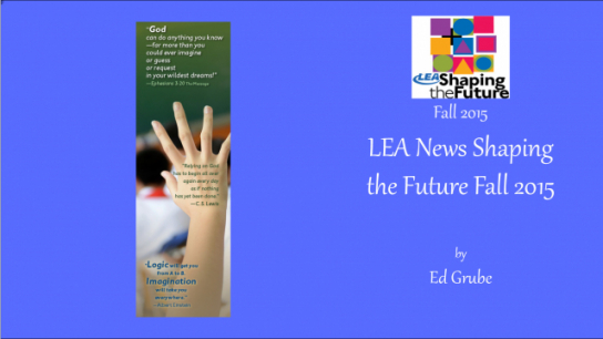 LEA News Shaping the Future Fall 2015