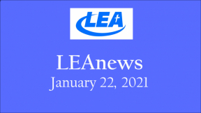 LEA News - January 22, 2021