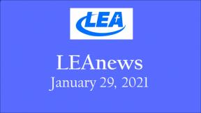 LEA News - January 29, 2021