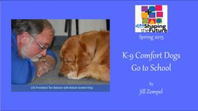 K-9 Comfort Dogs Go to School