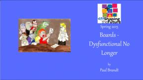 Boards - Dysfunctional No Longer