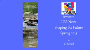 LEA News Shaping the Future Spring 2015