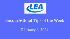 EncourAGEnet Tips of the Week - February 4, 2021