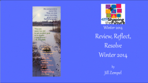Review, Reflect, Resolve Winter 2014