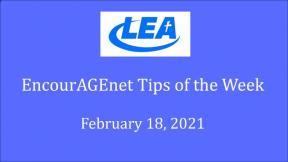 EncourAGEnet Tips of the Week - February 18, 2021
