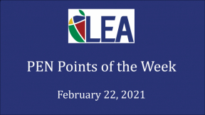 PEN Points - February 22, 2021